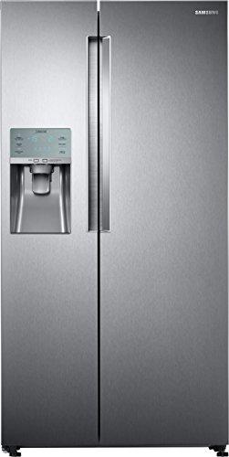 Samsung RS5FK6608SL/EG Kühlschrank / Side-by-Side / A++ / 182.5 cm / 376kWh/Jahr / Platzsparender In-Door Icemaker, Digital-Inverter-Kompressor / Eis- und Wasserspender / Total No Frost+
