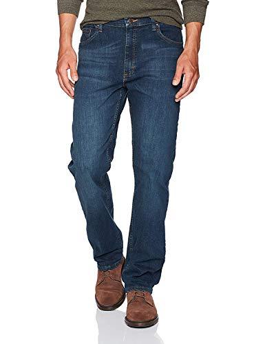 Wrangler Authentics Men's Classic 5-Pocket Regular Fit Jean, Twilight Flex, 38W x 30L