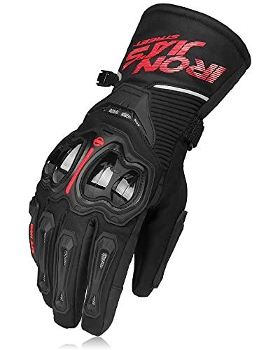 Motorradhandschuhe Winter Warm Wasserdicht Winddicht Schutzkleidung Touchscreen