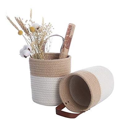 2 Pack Wall Hanging Baskets Small, ACECHA Hangi...