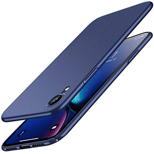 RANVOO Kompatibel mit iPhone XR Hülle, Dünn Matt Schlank Hart Ultra Slim PC Voller Schutz Anti-Kratzer Anti-Fingerabdruck Leicht Handyhülle Case Schutzhülle Schale Cover, 6,1