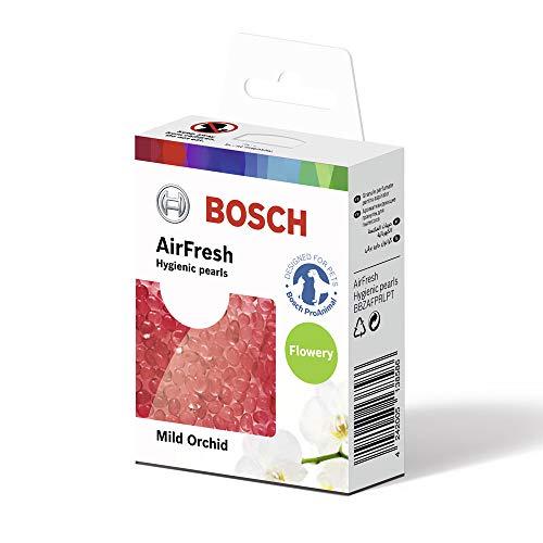 Bosch BBZAFPRLPT Duftperlen zum Neutralisieren von unangenehmen Gerüchen, für alle Staubsauger geeignet, Duftrichtung Mild Orchid