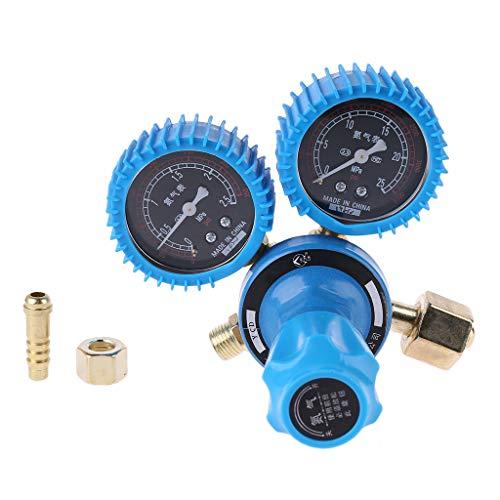 Meipai Stickstoff-Druckmessgerät Schweißregler Manometer Dual Stickstoff Druckminderer