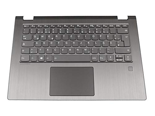 Lenovo Yoga 530-14IKB (81EK/81FQ) Original Tastatur inkl. Topcase DE (deutsch) grau/grau mit Backlight