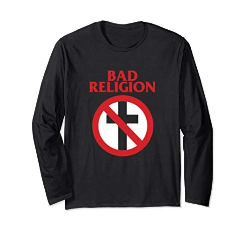 Bad Religion - Crossbuster Punk Logo - Official Merchandise Langarmshirt