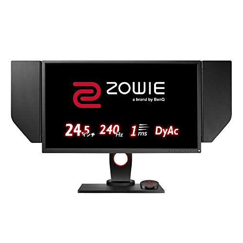 Zowie XL2546 Gaming-Monitor, schwarz/rot, HDMI, DVI-DL, DisplayPort, 240 Hz