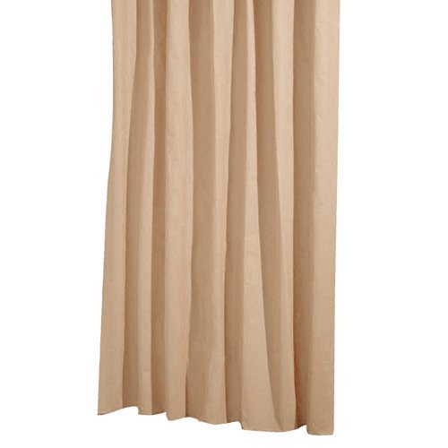 Papillon Duschvorhang Textil, Sandfarben, 180x 200cm
