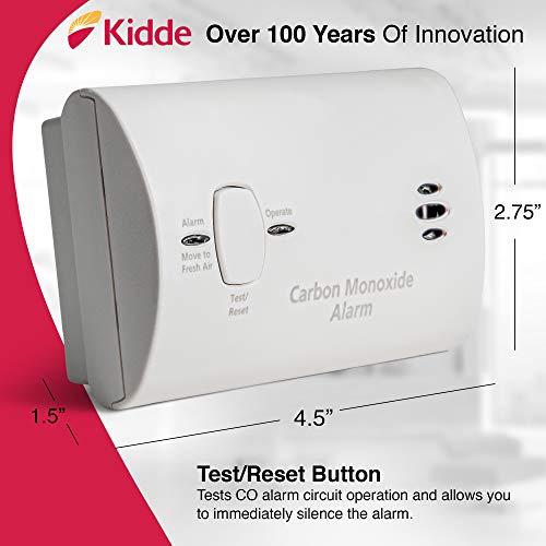 Kidde Carbon Monoxide Detector Alarm |Battery Operated | Model # KN-COB-LP2 9CO5-LP2