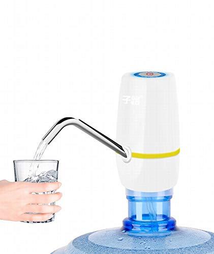 MU Flaschenwasserpumpe Kleine Wasserspender Wasserpumpe Haushalt Elektrische Reine Eimer Wasserpresse Automatische Wasserabsaugung,B,Einheitsgröße