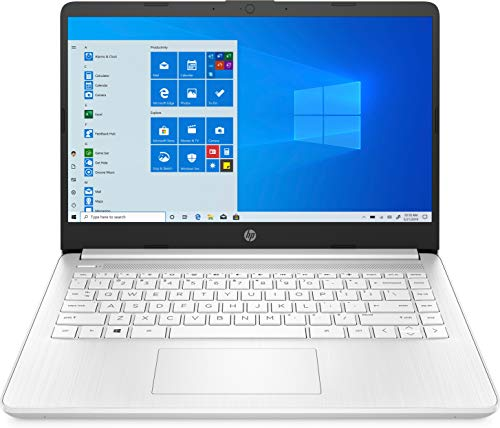 HP 14 Series 14' Laptop AMD Athlon 3020e 4GB RAM 64GB eMMc Snowflake White - AMD Athlon 3020e Dual-core - AMD Radeon Graphics - HP TrueVision 720p HD Camera - Windows 10 Home in S Mode - 10 hr ba