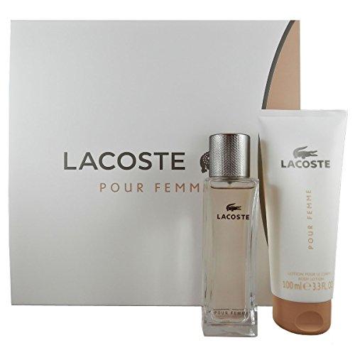 Lacoste Pour Femme, Set (Eau de Parfum, 50 ml+ Körperlotion, 100 ml)