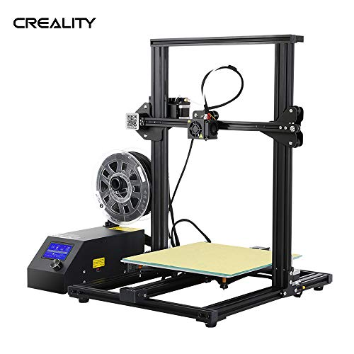 CR-10S Self-Assembly 3D DIY Printer 300 * 300 * 400mm Print Size with Aluminum Frame & Filament Detector Includes 200g Filament Supports PLA/ABS/TPU/Copper/Wood/Carbon Filament
