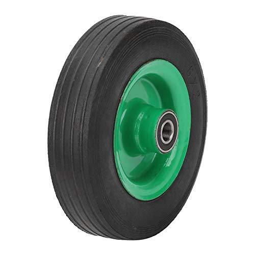 SALUTUYA 6-Zoll-Vollreifen mit rutschfesten Mustern Reifenrad für eine Vielzahl von Werkzeugwagen