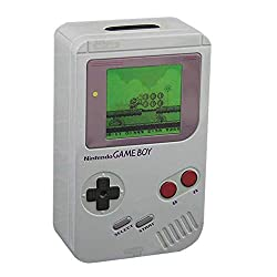 Paladone Nintendo Officially Licensed Merchandise - Classic Gameboy Bank - Money Box