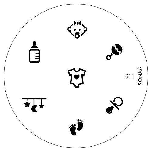 online-hut KONAD Stamping Schablonen S11