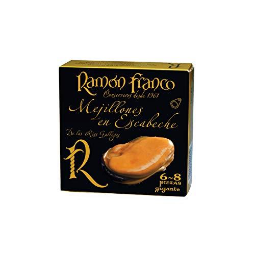Cozze marinate Ramon Franco 6/8 pezzi.