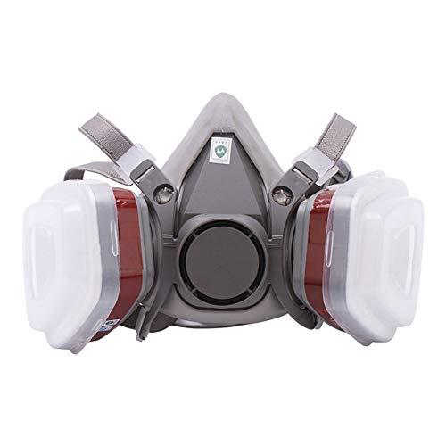 Gasmasker Halfmasker Professioneel Organisch Stoom Gezichtsmasker Op Grote Schaal Gebruikt in Verfspuit, Houtbewerking, Stofbescherming