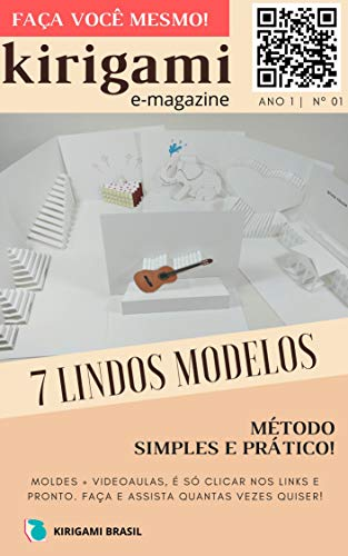 Kirigami - Revista digital nº 001 (Origami arquitetônico Livro 1) (Portuguese Edition)