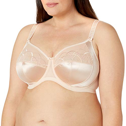 Elomi Women's Plus-Size Cate Underwire Full Cup Banded Bra,Latte,46H UK/46K US