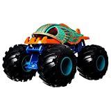 Hot Wheels Monster Trucks Piran-ahhh Coche de juguete, regalo para niños mayores de 3 años (Mattel GTJ34)