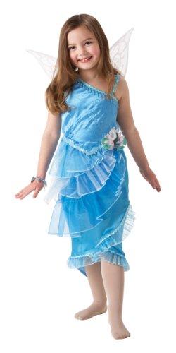 Rubie's-déguisement officiel - Disney- Déguisement Costume Luxe Fée Ondine + Bracelet - Taille M- I-884129M