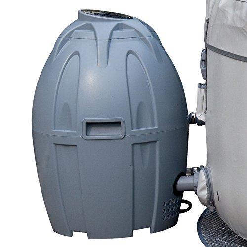 Bestway Lay-Z-Spa - Unità di riscaldamento e filtro per riscaldamento (Miami, Palm Springs, Monaco e Vegas), colore: Grigio