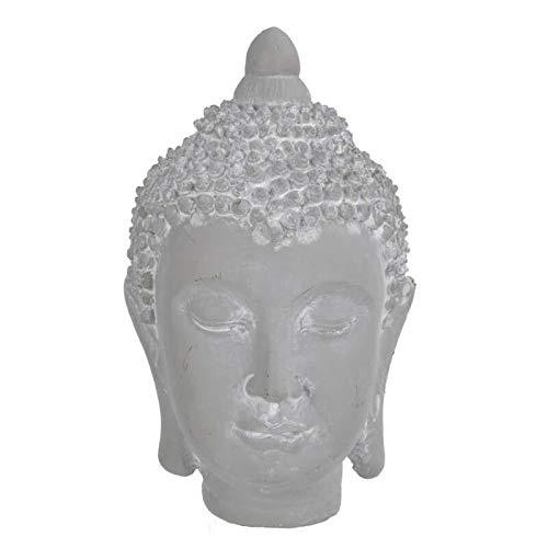 Dekorum - Cabeza Buda Cemento - 8434504045182