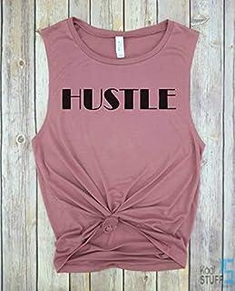 Hustle Tank, Block, Funny gym shirt, Cardio is Hardio, Muscle Tank, Gym tank, Yoga Tank, Women's Tank Funny Workout tank, weight lifting tank