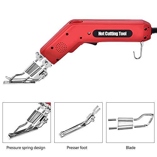 HUKOER Heißschneidegerät Professionelles Handheld-Elektrisches zum Schneiden von Band, Seil, Leinwand und Verschiedenen Stoffen 100W (220V)