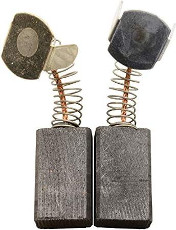 Escobillas de Carbón para VIRUTEX TM33L tronzadora - 6,6x12x21mm - 2.4x4.7x8.3''