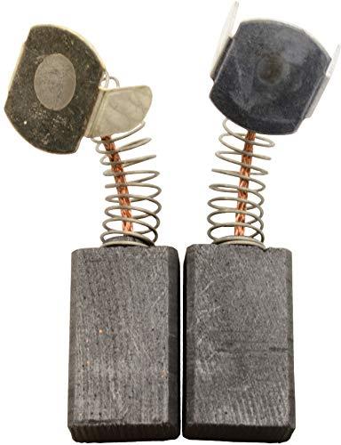 Escobillas de Carbón para VIRUTEX TM33L tronzadora - 6,6x12x21mm - 2.4x4.7x8.3