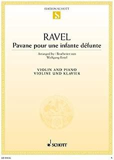 Pavane pour une infante défunte: for Violin and Piano