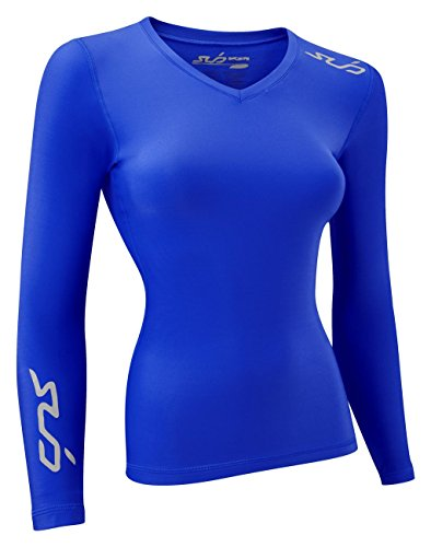 Sub Sports Cold Winter Thermo-basislaag voor dames, lange mouwen, Royal, maat S