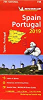 Spain & Portugal 2019 - Michelin National Map 734 (Michelin National Maps)