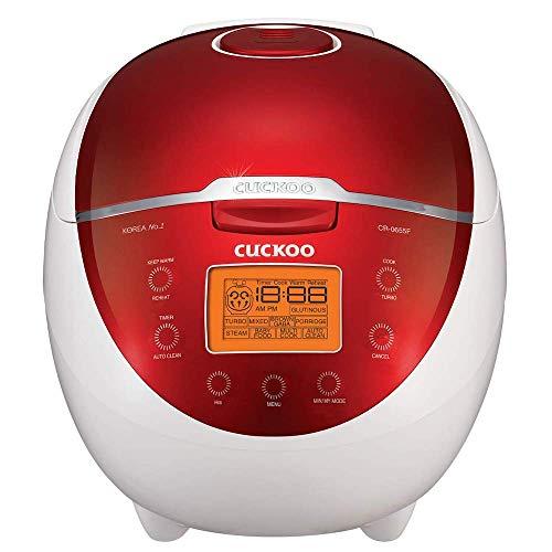 Cuckoo CR-0655F 6 Cup Micom Rice Cooker and Warmer