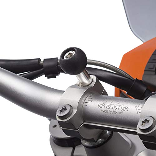 UltimateAddons Motorrad Top Klemme Schraube Halterung & 3 Zinken Schnellverschluss Anlage - M8-8mm