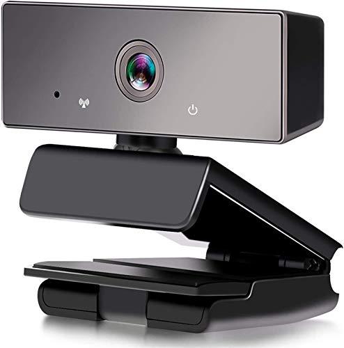 FAGavin Webcam, Webcam De Transmisión De 1080p con Micrófono para Computadora Portátil PC Mac O Computadora Portátil