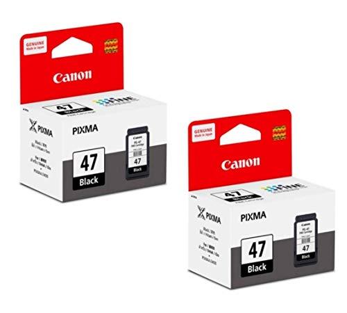 Canon Combo Pg 47 Black Ink Cartridge Set of 2