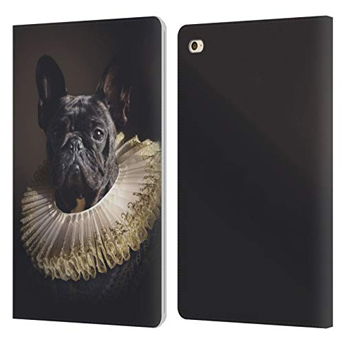 Official Klaudia Senator King French Bulldog 2 Leather Book Wallet Case Cover Compatible For Apple iPad mini 4