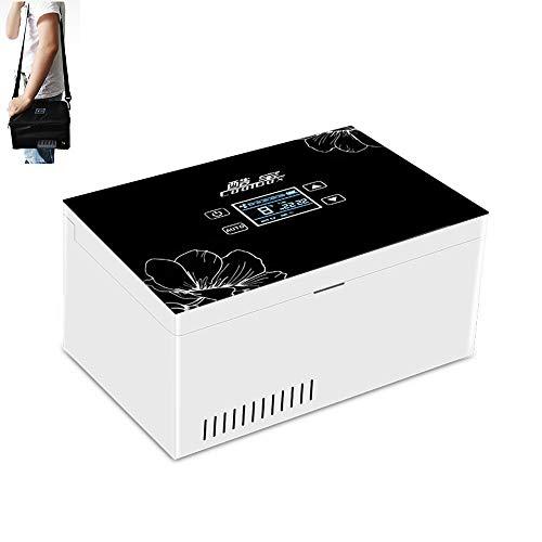 24 Stunden Insulin KüHler, Portable Intelligenter Mini-KüHlschrank, Deutschland EingefüHrte Technologie Mit Hohen KapazitäT Arzneimittel KüHlcontainer FüR Automobil- / Reise/Flugzeug