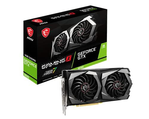 MSI Gaming GeForce GTX 1650 4GB GDDR6 PCI Express 3.0 x16 ATX Graphics Card, 3X DisplayPort v1.4a, HDMI 2.0b (GTX 1650 D6 Gaming X Plus)
