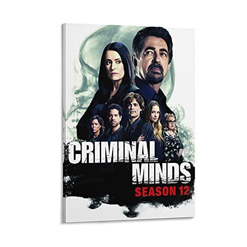GHASDF Criminal Minds Staffel 11 Leinwand-Kunst-Poster und Wand-Kunstdruck, modernes Familienschlafzimmerdekor, Poster, 30 x 45 cm