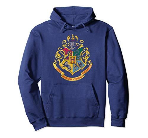Harry Potter Hogwarts School Crest Pullover Hoodie