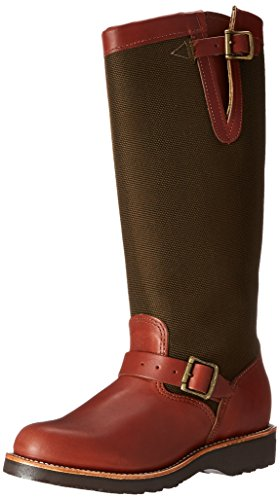 """Chippewa Women's 15"""" Pull On L23913 Snake Boot,Brown,5 M US"""