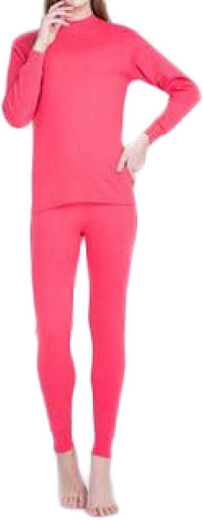 Women's Thermal Underwear Cotton Long Underwear Long John Womens Base Layer Set