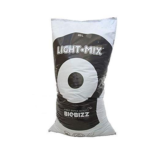 Biobizz Light Mix - Compost & Pellets Biologique Culture Hydroponie 10, 20, 50 Litres - 20 Litres
