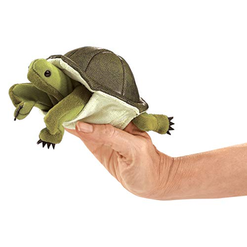 Product Image of the Folkmanis Turtle Puppet