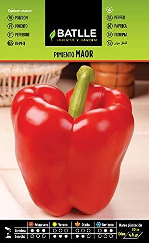 Semillas Hortícolas - Pimiento Maor - Batlle