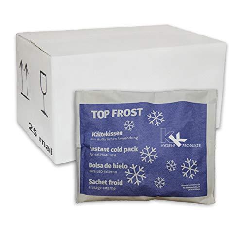 KK Kälte-Sofort-Kompresse | 25er Pack | Eispack | Eiskompresse | Kältekompresse | Kühlkompresse 14 x 18 cm (25 Stück)
