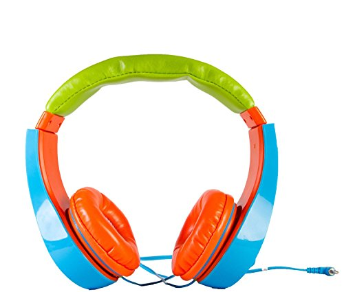 XO XO-HP-10 Kids Safe Headphone for all Tablet and Audio Devices (Colors may vary)